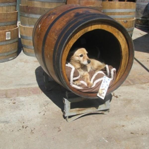 Barrel Dog House Ideas