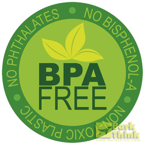 bpa free dog toy, phthalates free pet products, dog items with no bisphenol a bpa, dog plastic poisoning, plastic pet bowls, are your dog bowls safe, stainless steel dog bowl, best type of pet food bowls, barkthink, dog pet care tips and advice, minneapolis dog help, how to train a puppy, best items for dog food, dog food container, best type of bowls for pets