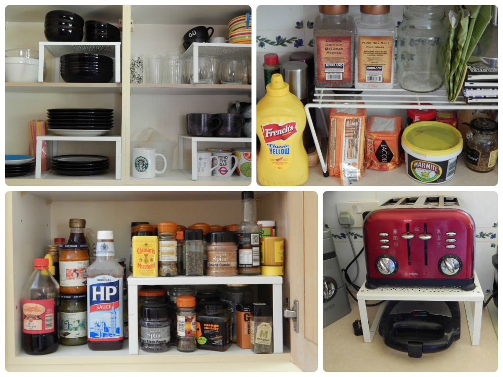 kitchen cabinet storage solutions tvs  cupboard organizer raised