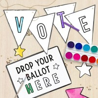Freebie: A Printable Kids Voting Kit for Mock Elections