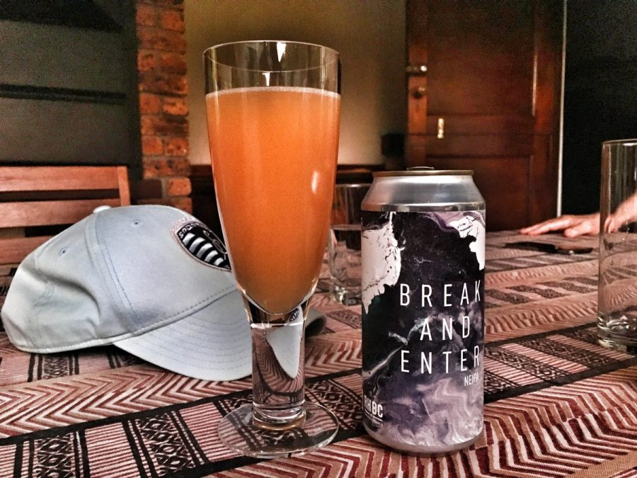 Feral Brew x RHBC Break and Enter NEIPA