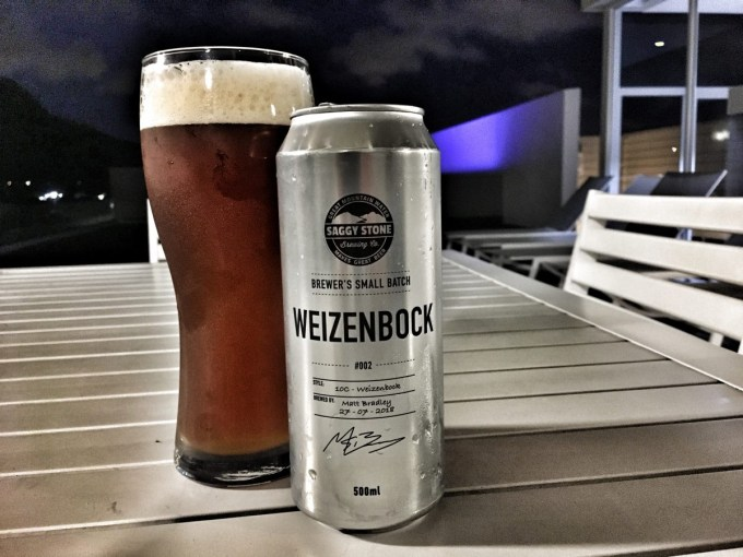 Saggy Stone Brewer's Small Batch Weizenbock