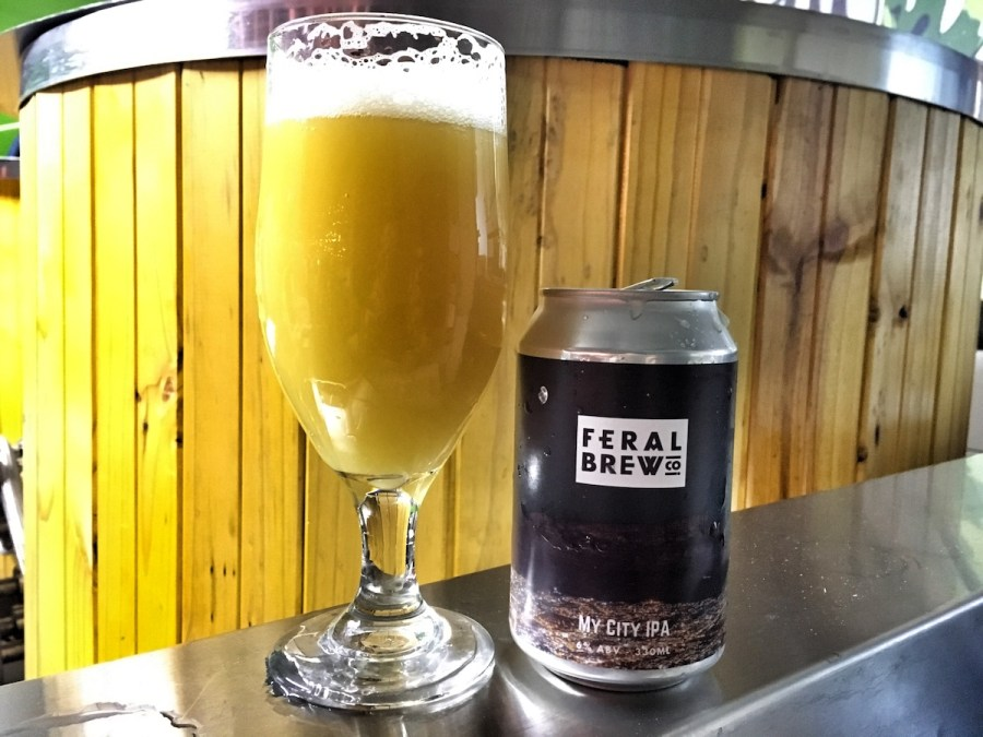 Feral Brew My City IPA