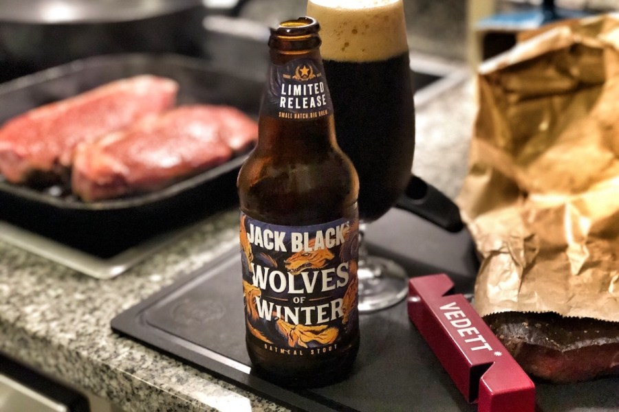 Jack Black's Wolves of Winter Oatmeal Stout
