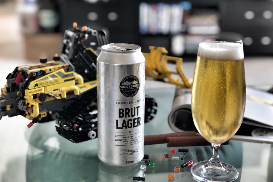 Saggy Stone Brewer's Small Batch Brut Lager