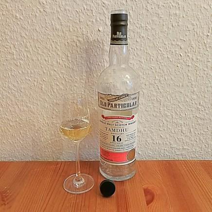 Tamdhu 16yo by Old Particular (Single Cask Scotch Malt Whisky Douglas Laing BarleyMania Tasting Notes)