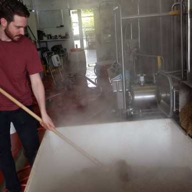 May 2014 - Four Winds Competition Winners brewing at Four Winds