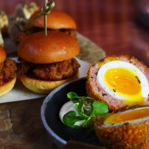 Scotch eggs at Barlounge