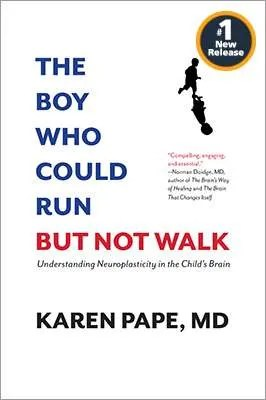 The Boy Who Could Run But Not Walk - book cover with No. 1 New Release icon