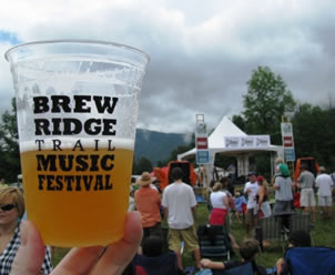 Brew Ridge Trail Festival - Glass (sweet pic by Holly C - Thanks)