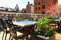 Outdoor terrace at Barluga Grey Street... - Barluga