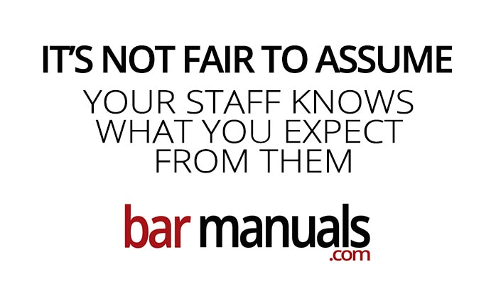 Bar Manuals by the Bar Experts Founder Ryan Dahlstrom