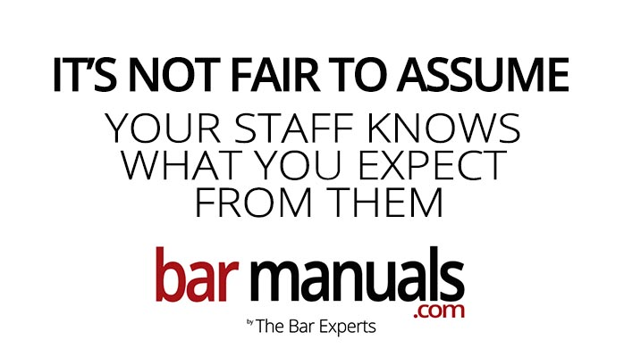 Its Not Fair To Assume Your Staff Knows What You Expect