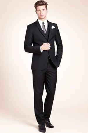 roupa social masculina com colete