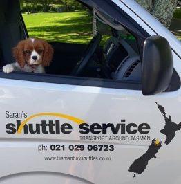Sarahs shuttle to the barn abel tasman