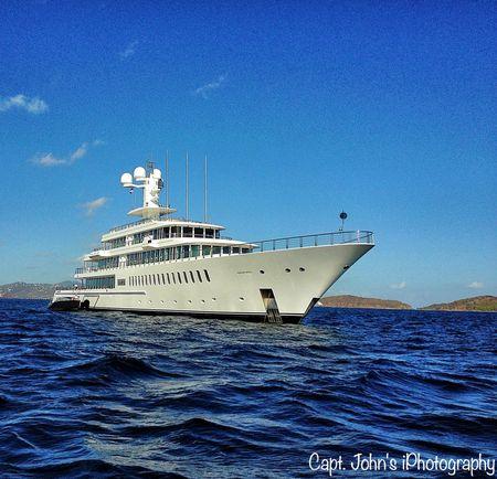 Mark Cubans Yacht US Virgin Islands News