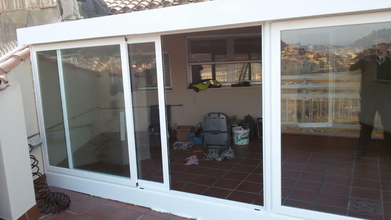 Puertas de terraza de aluminio amazing puertas automticas - Puertas de terraza ...