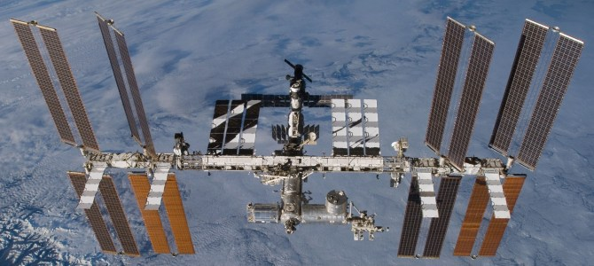 International Space Station visits Barnby