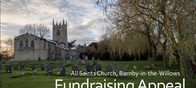 Church fundraising appeal online – now with YouTube Video & Online Donation