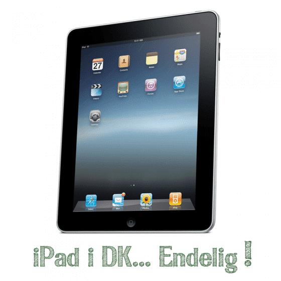 iPad i Danmark endelig