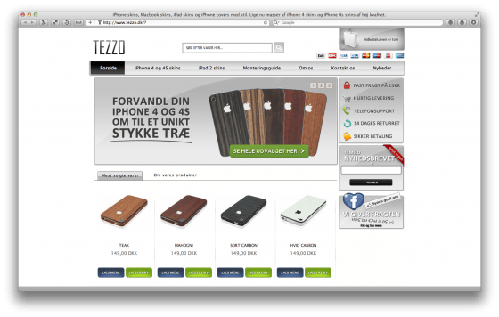 Tezzo iphone og ipad covers
