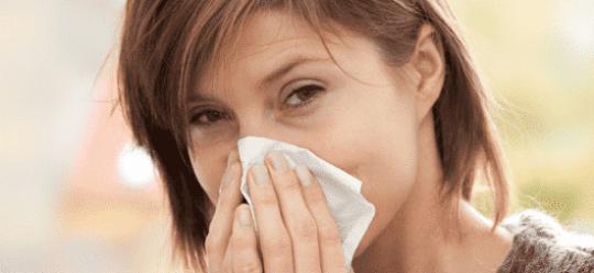 pudse næse af allergi og astma