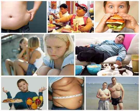 tykke børn og fedme