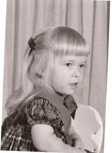 Susan Barnes age 4 - 1965