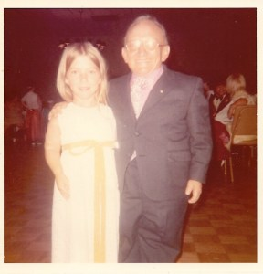 Susie with Billy Barty Chicago 1972