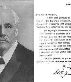 Britain's Balfour Declaration of 1917
