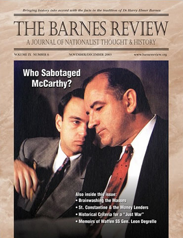 The Barnes Review, November/December 2003