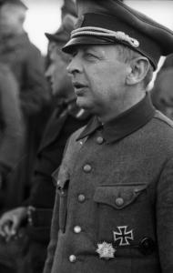 Brig. Gen. Bronislav Kaminski of the SS.