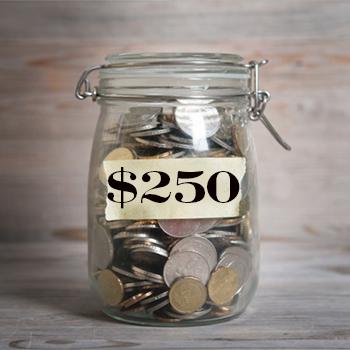 TBR Donation $250