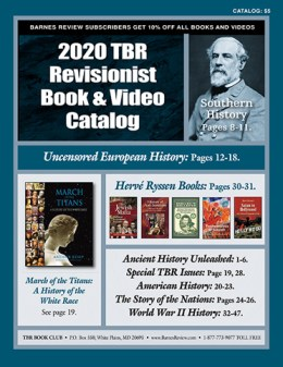 2020 TBR Revisionist Book and Video Catalog