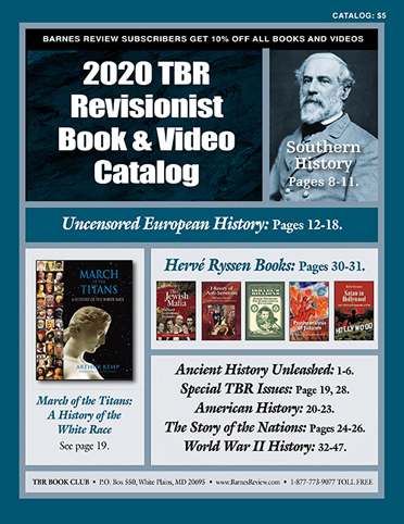 2020 TBR Revisionist Book & Video Catalog