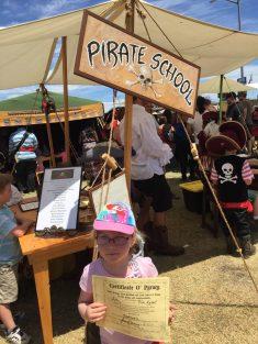 Graduate of Pirate School.