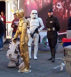 C-3P-0 e R2-D2