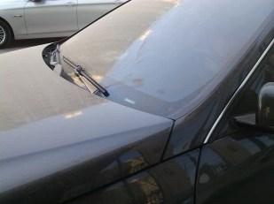 Polvere sulle auto