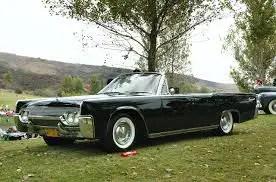 lincoln continental 1960