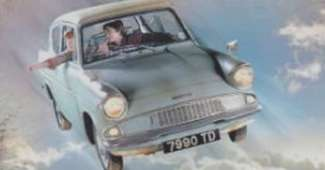 Coche volador de Harry Potter - Ford Anglia 1960