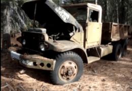 Abandoned Military Trucks