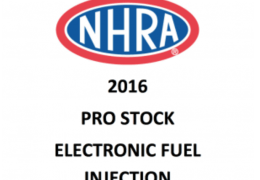 Power and Speed 2016 Pro Stock Rules  The Electronic Injection section