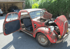 1938 Fiat Topolino what are the doors before the windshield for
