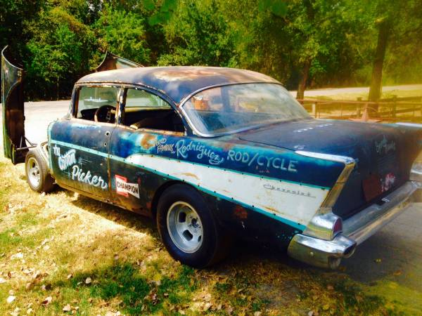 Craigslist Find 1957 Chevy Drag Car