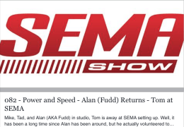 Power and Speed Sema with Fudd!