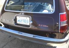 Pacer rear hatch