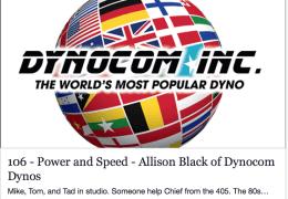 Allison Black of Dynocom Dynos