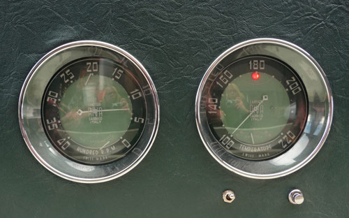A not very good picture of our terrifically good Gauges.