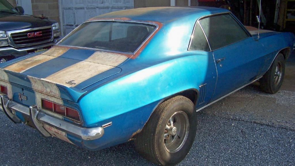1969 Chevrolet Camaro Z 28 Real Deal