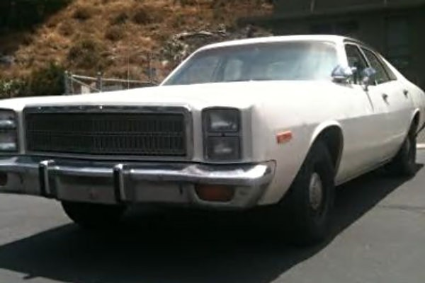 1978 Plymouth Fury Police Pursuit Options